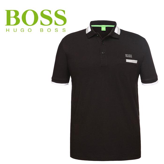 ヒューゴボス ポロシャツ USA HUGOBOSS Paddys 50292196-001 ボスグリーン