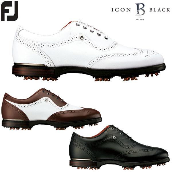 フットジョイ FJ アイコン ブラック メンズ ゴルフシューズ ICON BLACK 2017 FOOTJOY