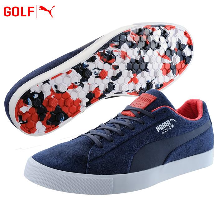 56176428637 ○Puma golf shoes men suede cloth G team USA Suede G Team USA 191208 2018  fall and winter