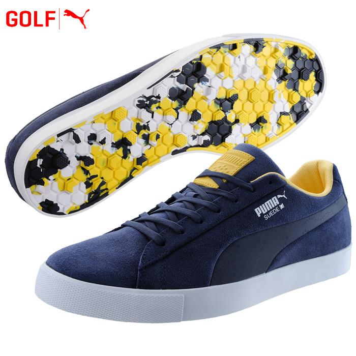 bb84350bd61 Puma golf shoes men suede cloth G team EUR Suede G Team EUR 191268 2018  fall and winter
