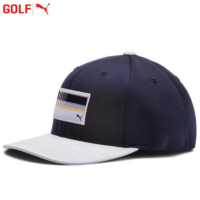 03b892ef Puma golf utility patch 110 snapback cap hat 022137 spring of 2019 summer  ...