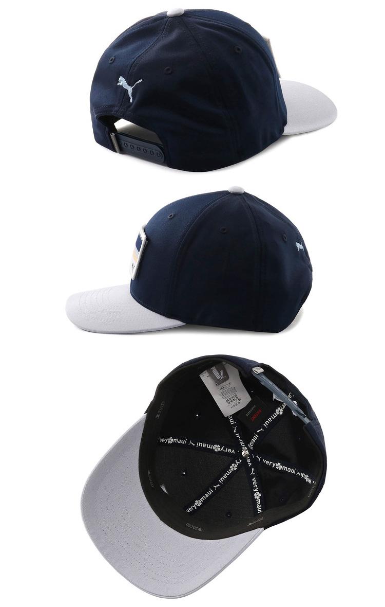73cc5c9a ... Puma golf utility patch 110 snapback cap hat 022137 spring of 2019  summer ...