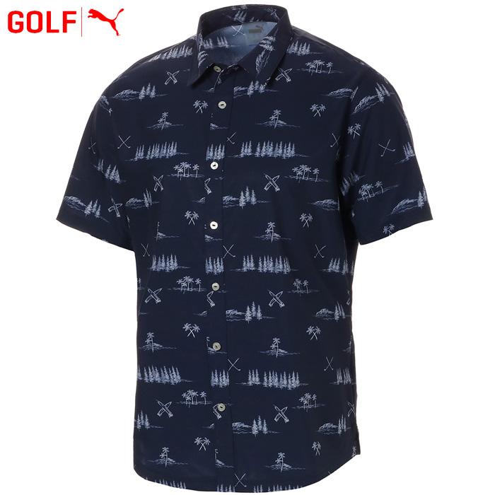 プーマ ゴルフウェア メンズ パラダイス シャツ 579313 2019春夏