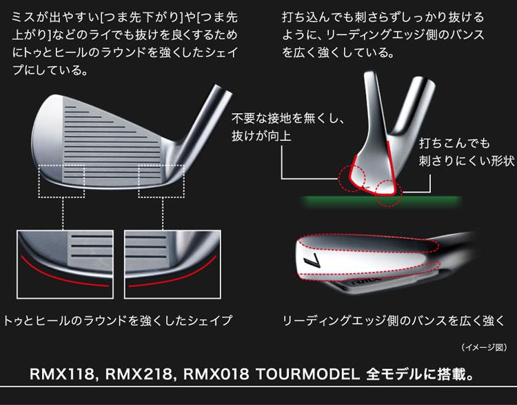【2018年モデル】 ヤマハ RMX リミックス 018 ツアーモデル アイアン #5-P 6本セット ダイナミックゴールド120