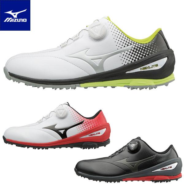 ミズノ メンズ ゴルフシューズ ネクスライト004ボア 51GM1720 NEXLITE 004 Boa