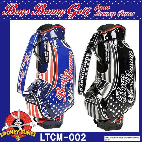 ルーニーテューンズ バッグスバニースター キャディバッグ 9型 LTCM-002 LOONEY TUNES BUGS BUNNY STAR