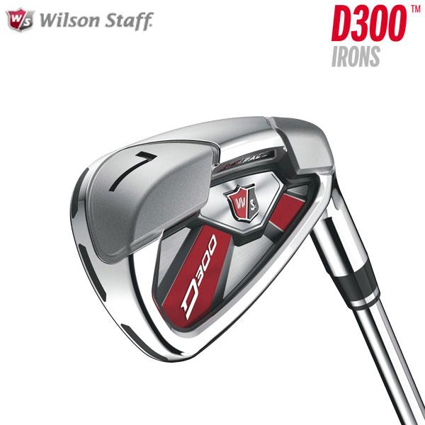 ウィルソン ゴルフ D300 アイアン (#5~PW) 6本セット 2017モデル