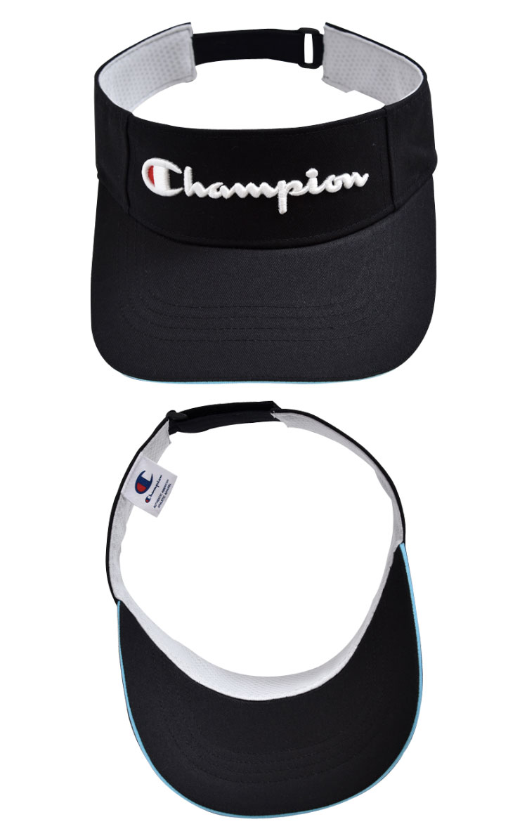 The men s visor which the logo of the champion shines in. It is the product  which adds a color to the border of the saliva 667d17f5624