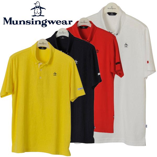 【クリアランスセール】 マンシングウェア ゴルフウェア メンズ 半袖ポロシャツ MGMLJA05 2018春夏