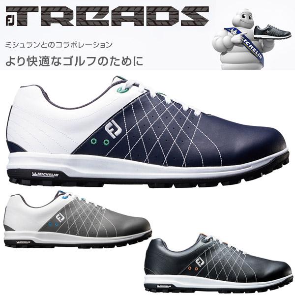 フットジョイ FJ トレッド レース ゴルフシューズ メンズ FJ TREADS Lace 2018モデル