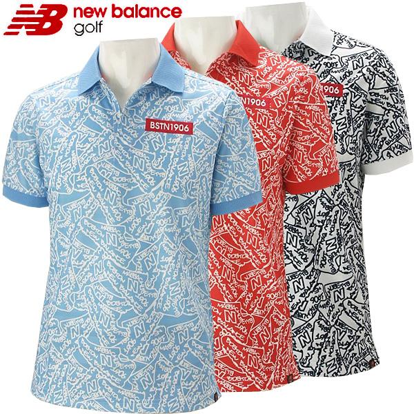【クリアランスセール】 ニューバランス ゴルフウェア メンズ ポロシャツ 012-8160011 2018春夏