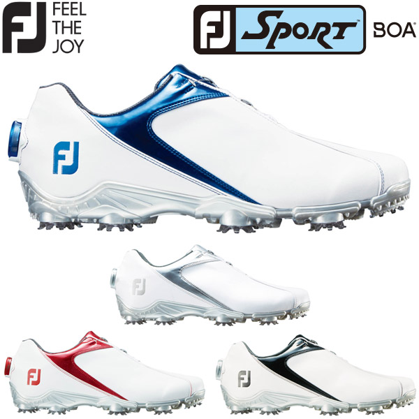 フットジョイ スポーツ ボア メンズ ゴルフシューズ SPORT Boa 2018年モデル