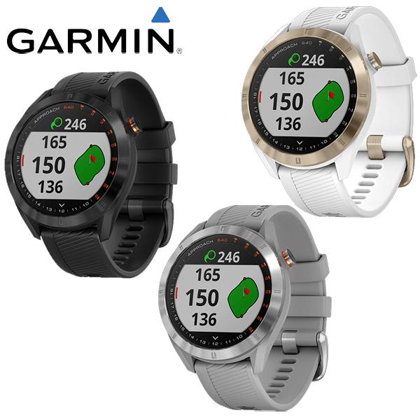 ガーミン ゴルフ アプローチ S40 GPSゴルフナビ 腕時計型 日本正規品 2019年モデル Approach S40