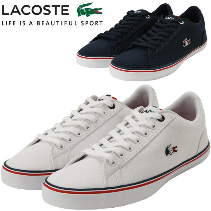 buy best top brands cheaper Lacoste canvas sneakers men CAM0148