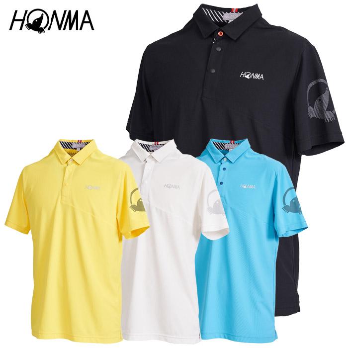 【期間限定プライスダウン】 ホンマ 本間 ゴルフウェア メンズ 半袖ポロシャツ 031-733121 2020春夏