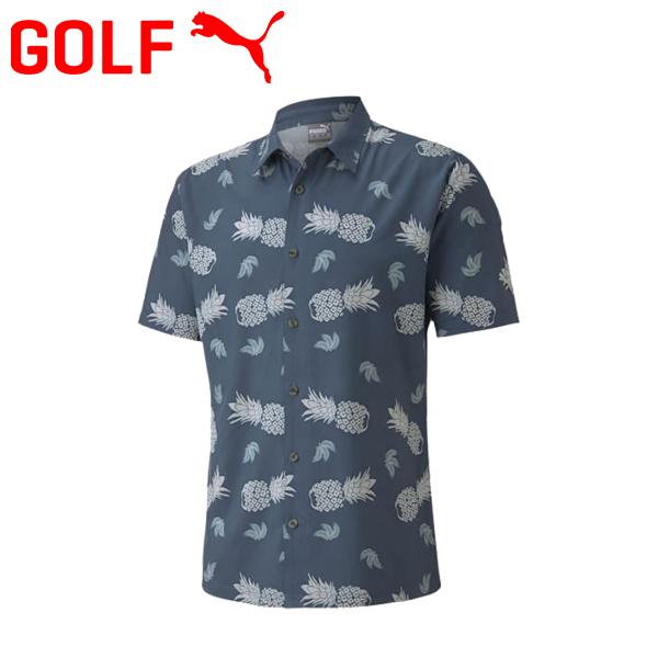 プーマ ゴルフ アイランド シャツ ゴルフウェア メンズ 2020モデル