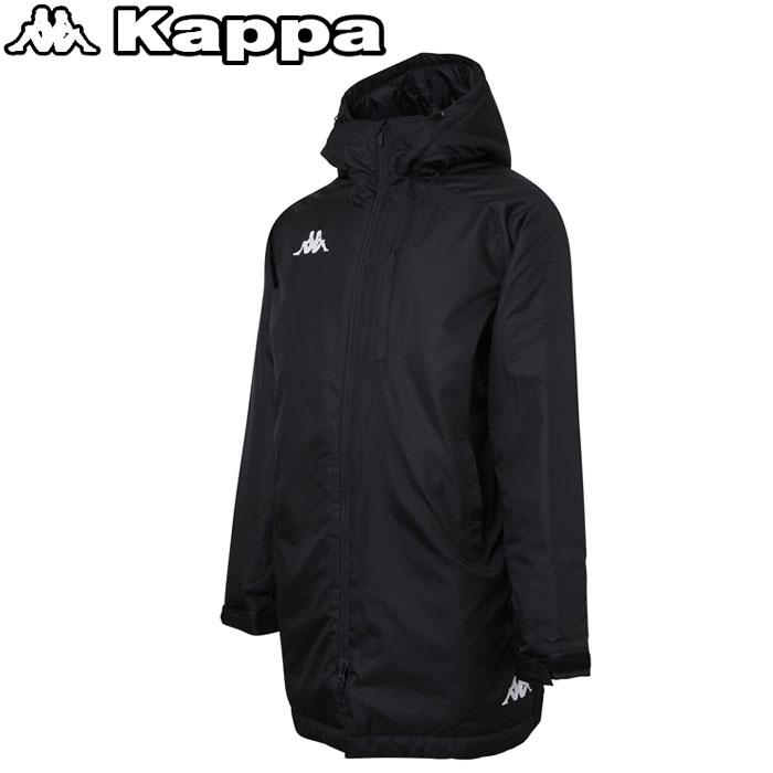 カッパ ウォーマーロングジャケット メンズ KF852OT14-BK