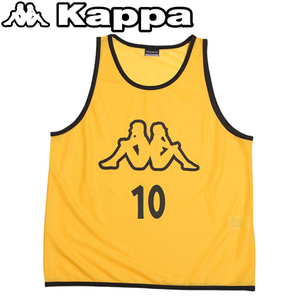 カッパ サッカー ビブス 10枚組 KF418AZ36-LMN