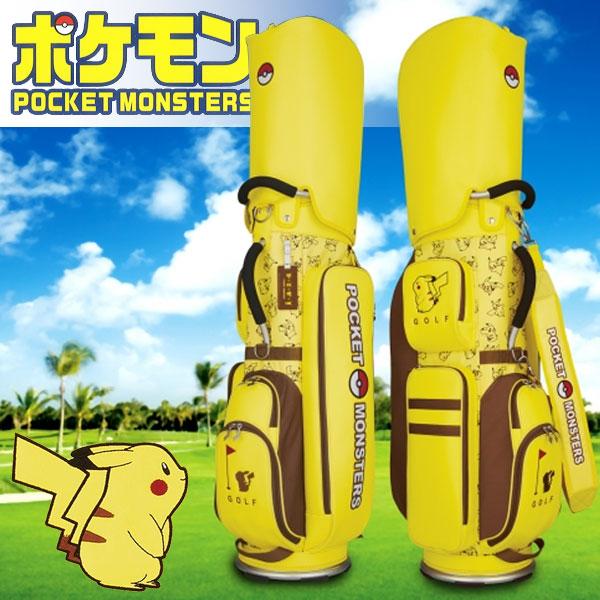 ポケモン ゴルフ キャディバッグ 軽量タイプ ポケットモンスター PMCB001 2020年モデル