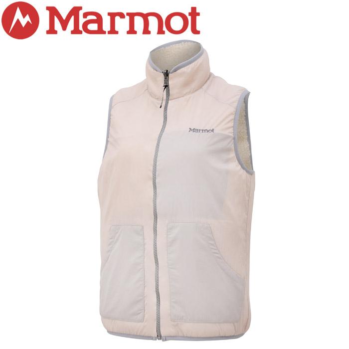 【クリアランスセール】 マーモット Ws Sheep Fleece Vest ウィメンズシープフリースベスト レディース TOWOJL39-SEGM
