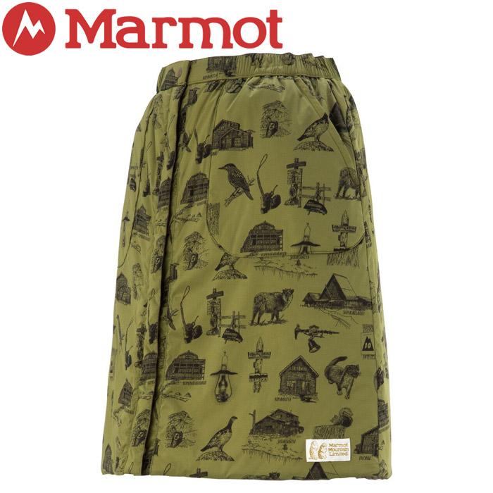 【クリアランスセール】 マーモット Ws Reversible Padding Skirt ウィメンズリバーシブルパディングスカート レディース TOWOJE97YY-CVKH