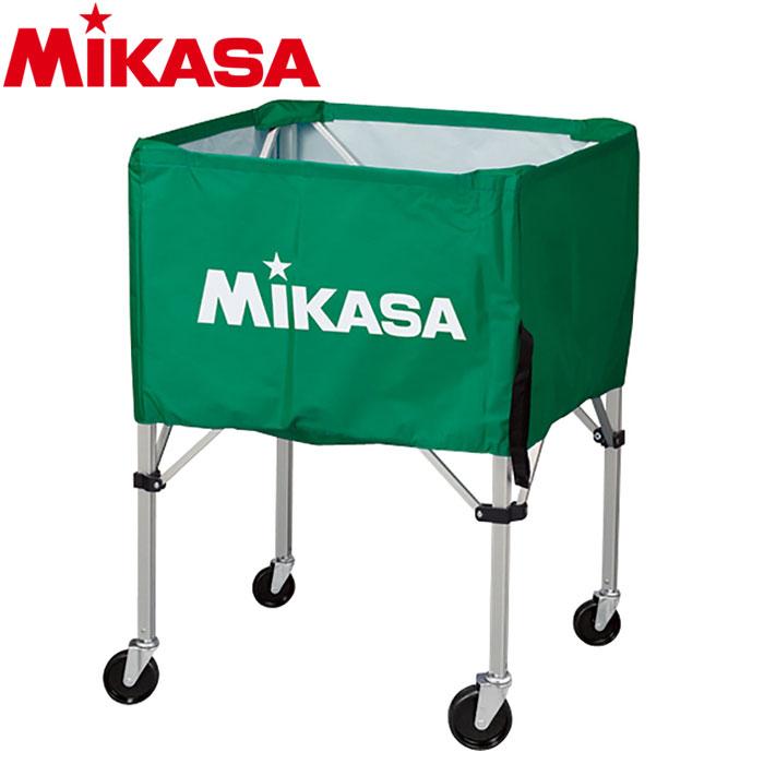 ミカサ ボールカゴ 箱型 大 グリーン BC-SP-H-G 9068003