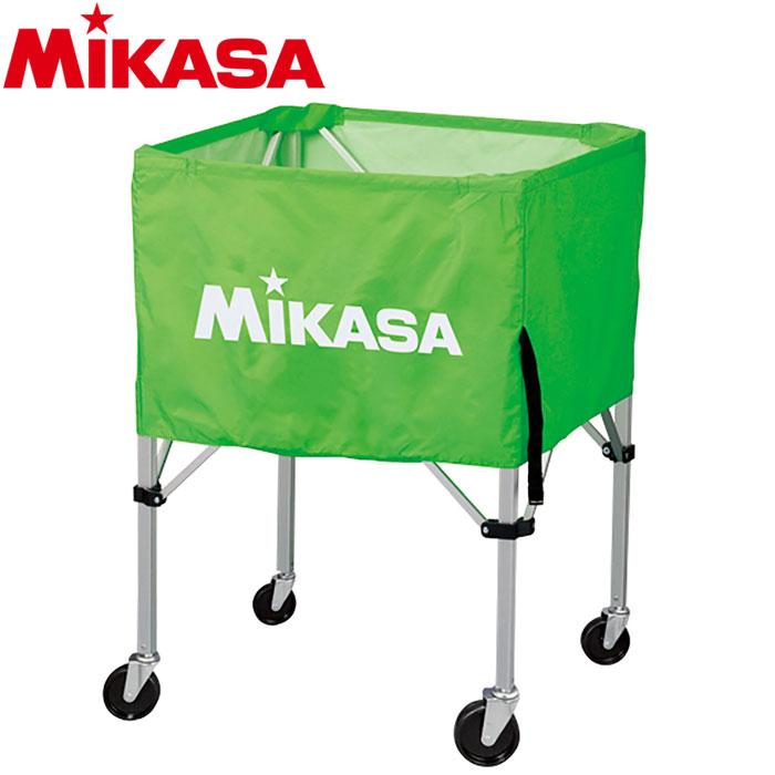 ミカサ ボールカゴ 箱型 大 ライトグリーン BC-SP-H-LG 9068008