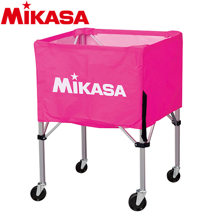 ミカサ ボールカゴ 箱型 大 ピンク BC-SP-H-P 9068006