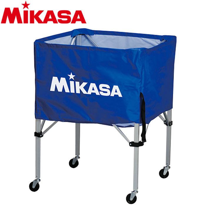 ミカサ ボールカゴ 箱型 中 ブルー BC-SP-S-BL 9068011