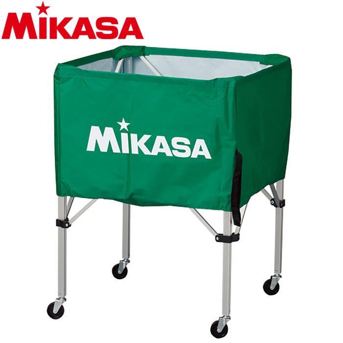 ミカサ ボールカゴ 箱型 中 グリーン BC-SP-S-G 9068013