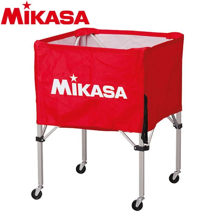 ミカサ ボールカゴ 箱型 中 レッド BC-SP-S-R 9068010