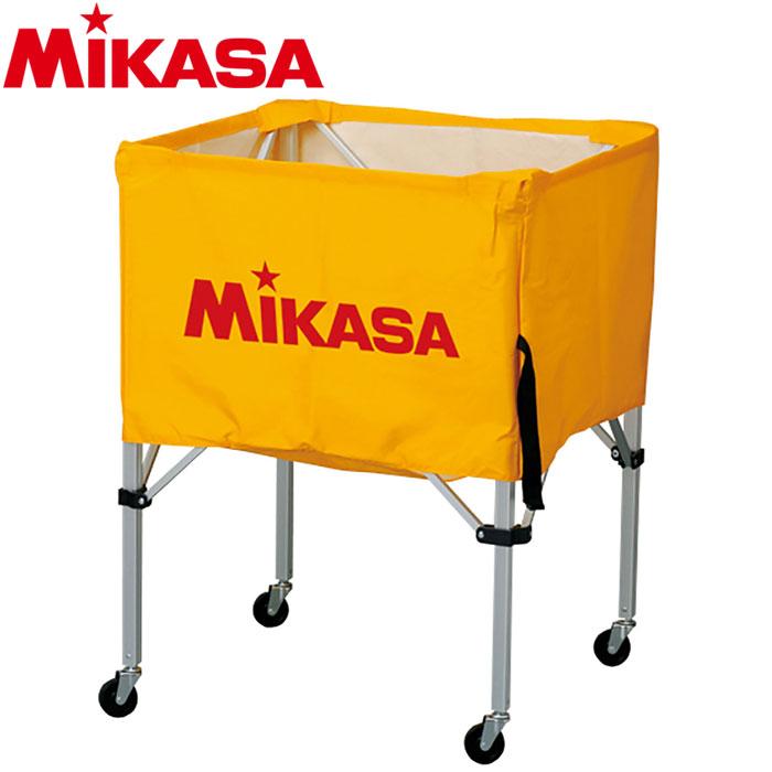 ミカサ ボールカゴ 箱型 中 イエロー BC-SP-S-Y 9068012