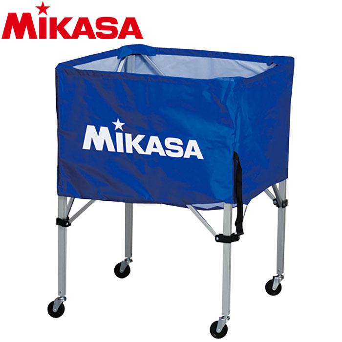 ミカサ ボールカゴ 箱型 小 ブルー BC-SP-SS-BL 9068021