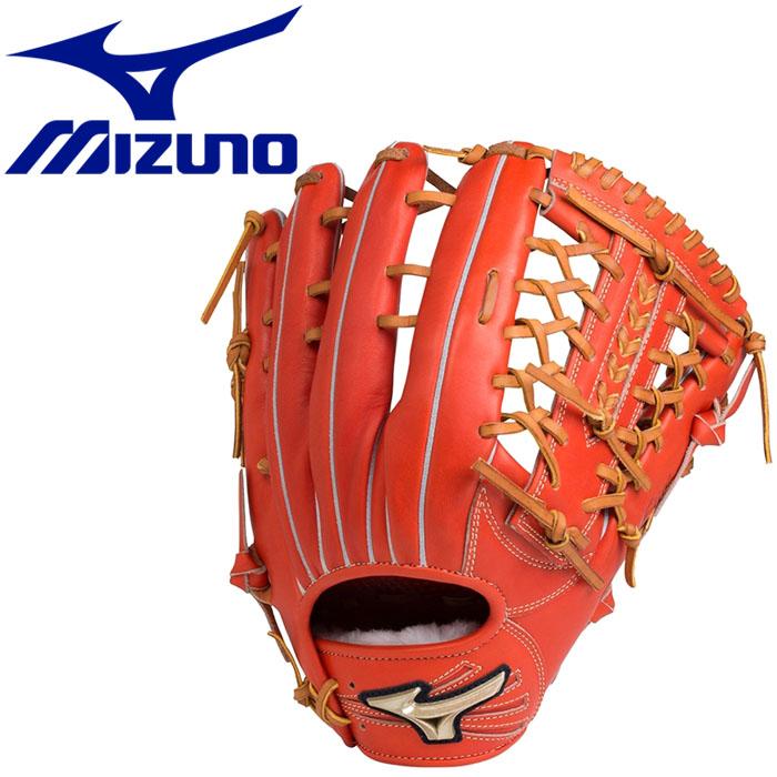 ミズノ Hselection02 硬式用 外野手用:サイズ16N グラブ 1AJGH1830752
