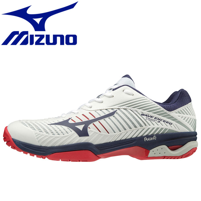 ミズノ テニス ウエーブエクシード TOUR 3 AC オールコート テニスシューズ メンズ レディース 61GA187014