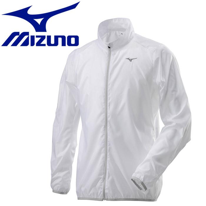 ミズノ ウィンドブレーカーシャツ ポーチジャケット メンズ J2ME851001