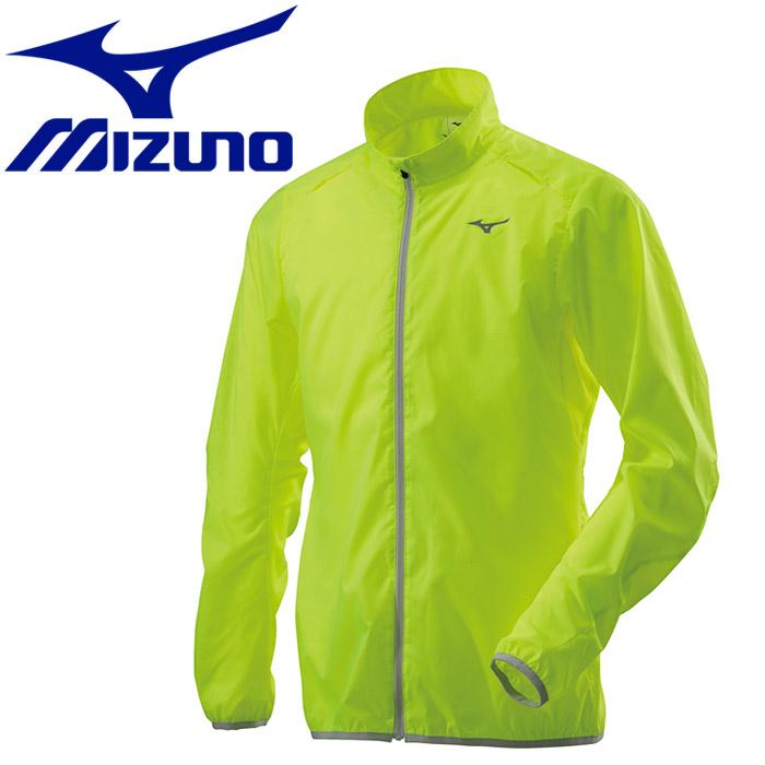 ミズノ ウィンドブレーカーシャツ ポーチジャケット メンズ J2ME851031