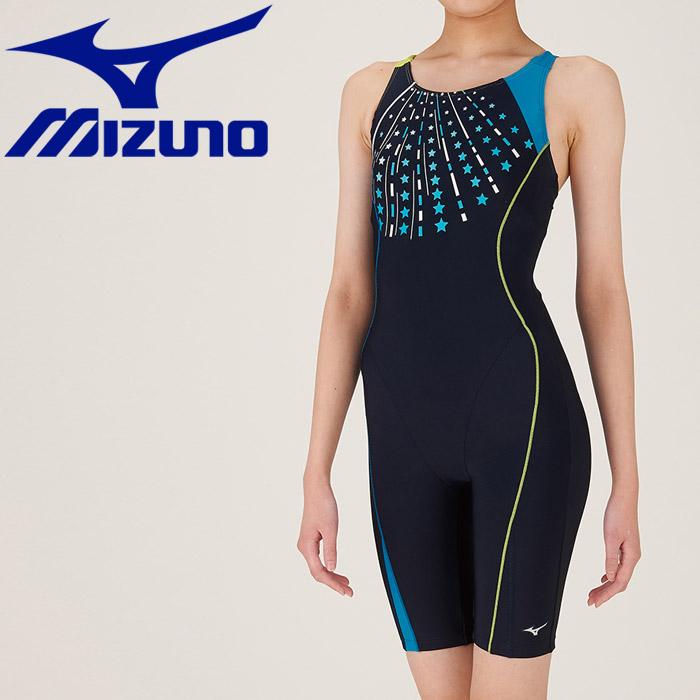 ミズノ 水泳 オールインワン ピースバック フィットネス 水着 レディース N2JG980283