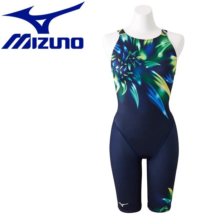 ミズノ ストリームアクティバ ハーフスーツ オープン 水着 レディース N2MG875083