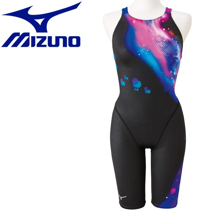 ミズノ 水泳 ストリームアクティバ ハーフスーツ オープン 競技水着 レディース N2MG975091