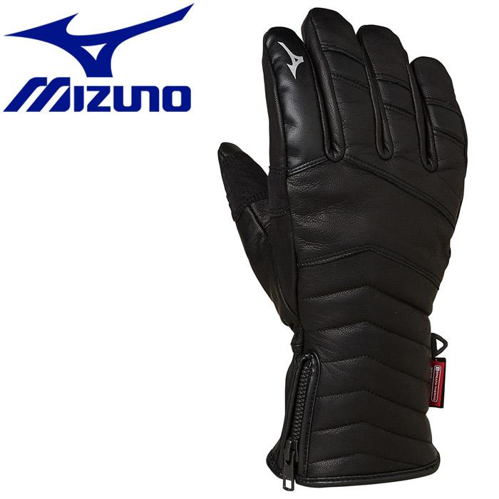 ★3,980円以上送料無料!(一部地域/商品除く) ミズノ ウインター Leather 5Finger Gloves グローブ Z2JY950109