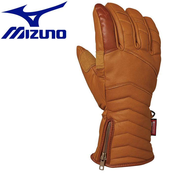 ★3,980円以上送料無料!(一部地域/商品除く) ミズノ ウインター Leather 5Finger Gloves グローブ Z2JY950151