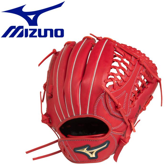 ミズノ ジュニアソフトボール用 セレクトナイン×UMiX U2 投手×外野 :サイズLL グラブ 1AJGS2171062