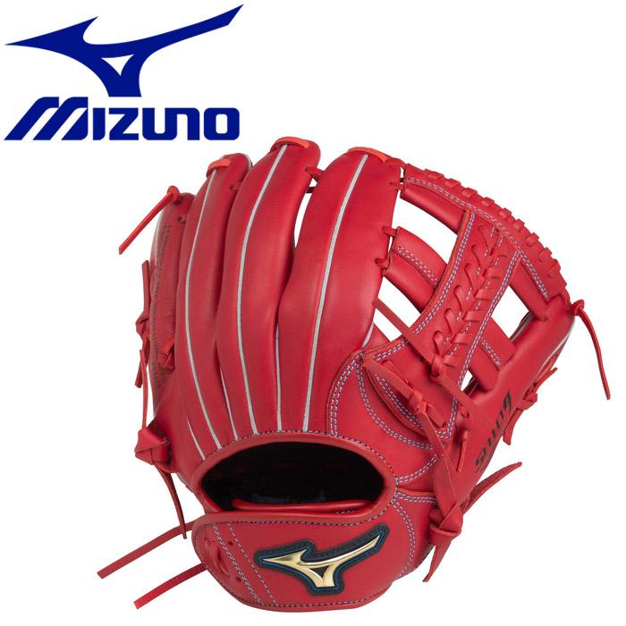 ミズノ 野球 少年軟式用 セレクトナイン×UMiX U1 投手×内野 :サイズM グラブ 1AJGY2150062