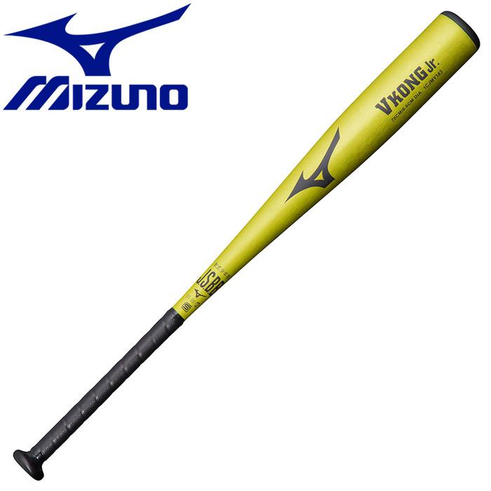 ミズノ 野球 軟式少年用金属製Vコング Jr バット ジュニア 1CJMY1437840