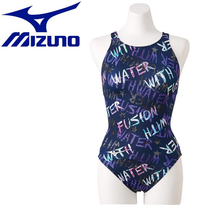 ミズノ ストリームアクティバ ローカット オープン 競技水着 レディース N2MA924887