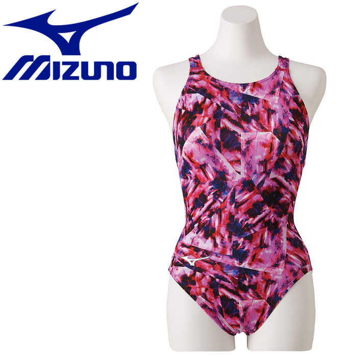 ミズノ ストリームアクティバ ローカット オープン 競技水着 レディース N2MA924964