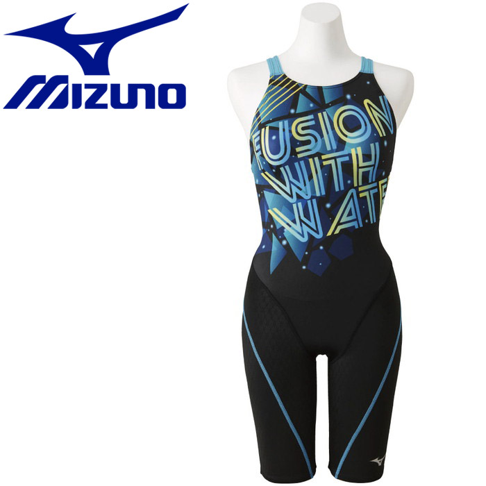 ミズノ ストリームアクティバ ハーフスーツ オープン 競技水着 レディース N2MG925392