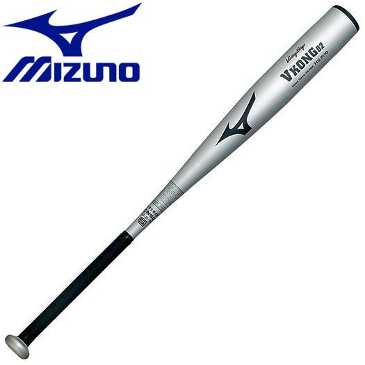 ミズノ 野球 中学硬式用 ビクトリーステージ Vコング02 金属製 84cm 平均830g バット 2TH2694003N