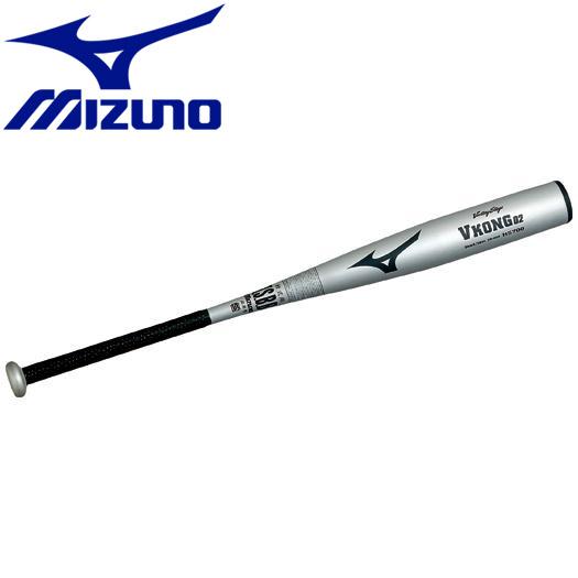 ミズノ 野球 軟式用ビクトリーステージVコング02 金属製 83cm 平均740g バット 2TR4333003N